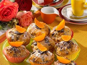 Schoko-Mandarinen-Muffins Rezept