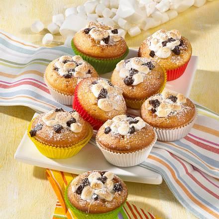 Schoko-Marshmallow-Muffins Rezept