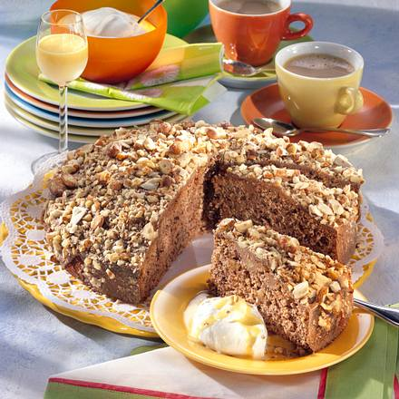 Schoko Nuss Kuchen Rezept Lecker