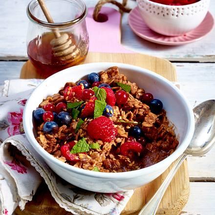 Schoko-Porridge Rezept
