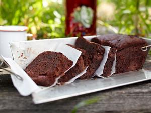 Schoko Rote Grützekuchen Rezept