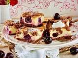 Schoko-Streuselkuchen mit Kirschen Rezept