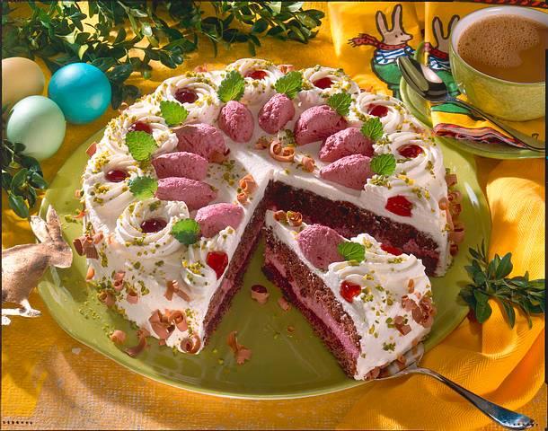 Schoko-Weincreme-Torte Rezept