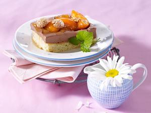 Schokoladen-Aprikosen-Schnitten Rezept