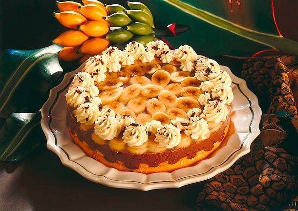 Schokoladen-Bananen-Torte Rezept
