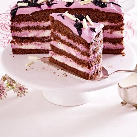 Schokoladen-Brombeer-Torte Rezept