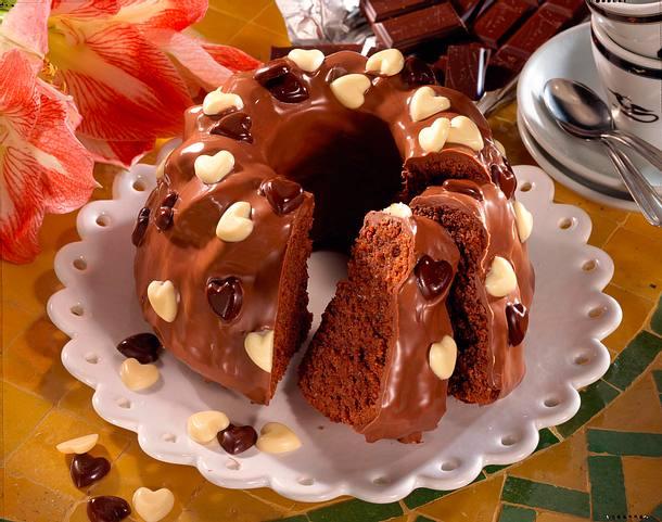 Schokoladen-Gugelhupf Rezept