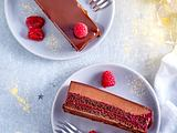 Schokoladen-Himbeer-Schichtkuchen Rezept