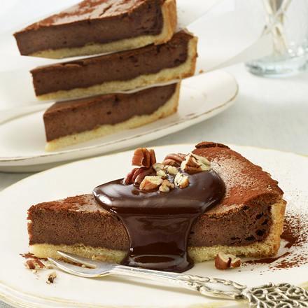 Schokoladen-Käse-Tarte Rezept