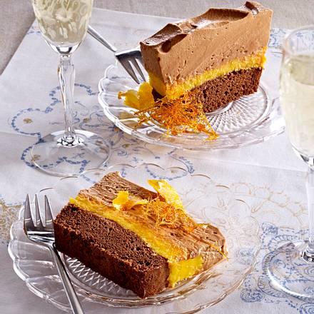 Schokoladen-Karamell-Terrine Rezept