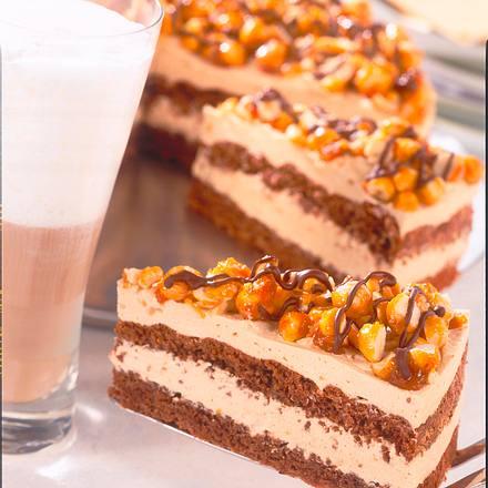 Schokoladen-Karamell-Torte Rezept