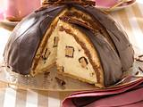 Schokoladen-Kuppeltorte mit Baumkuchencreme Rezept