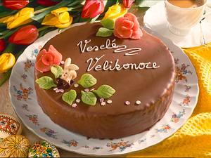 Schokoladen-Mandel-Buttercremetorte Rezept