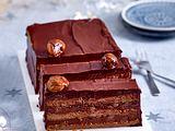 Schokoladen-Maronen-Kuchen Rezept