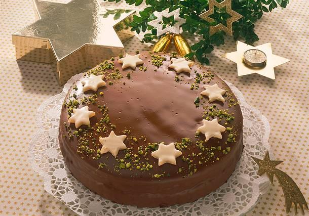 Schokoladen-Marzipan-Torte Rezept
