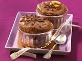 Schokoladen-Orangen-Soufflé Rezept