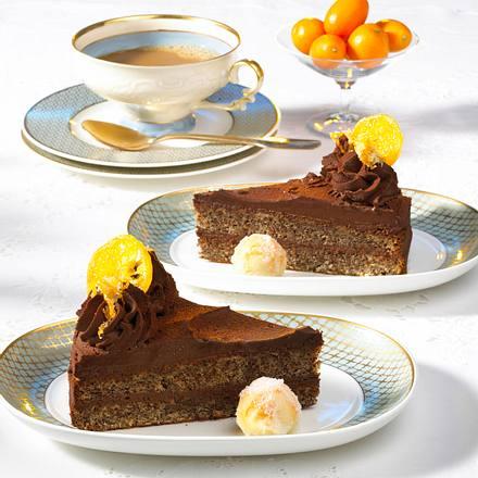 Schokoladen-Orangen-Torte Rezept