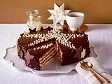 Schokoladen-Sterntorte Rezept