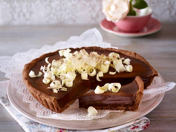 Schokoladen-Tarte Rezept
