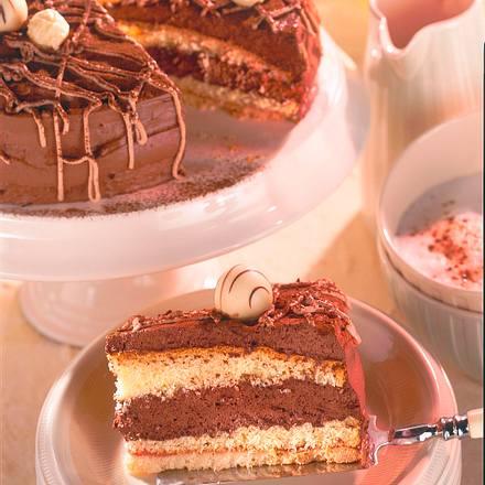 schokoladen tr ffel torte rezept chefkoch rezepte auf kochen backen und schnelle. Black Bedroom Furniture Sets. Home Design Ideas