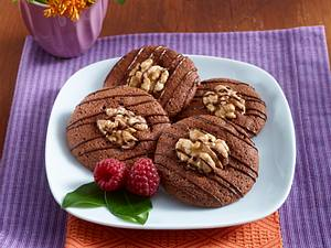 Schokoladen-Walnuss-Cookies Rezept