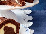 Schokoladenkuchen mit Käsekuchenfüllung Rezept
