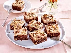 Schokoladenkuchen mit Knusper-Perlen Rezept