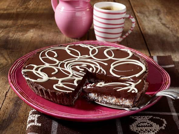 Schokoladentarte mit Kokos Rezept