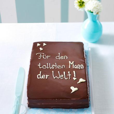 Schokoladentorte (Geburtstagstorte für ihn) Rezept