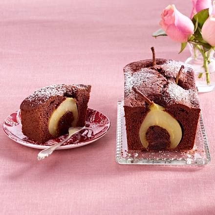 Schokoladige Birnen-Kaffee-Kuchen Rezept