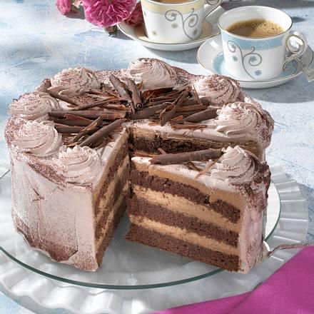 Schokotrüffel-Torte Rezept