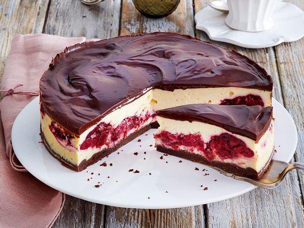 Schwarzwälder-Käse-Torte