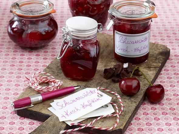 Schwarzwälder Kirsch-Konfitüre Rezept