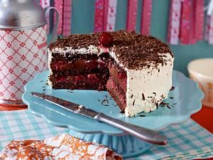 Schwarzwälder-Kirsch-Torte mit Ganache Rezept