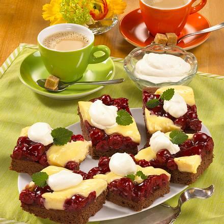 Schwarzwälder Pudding-Schnitten (Diabetiker) Rezept