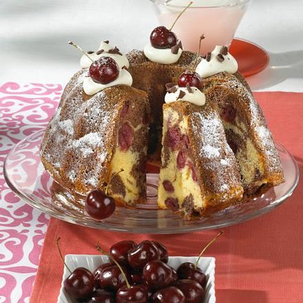 Schwarzwälderkirsch-Marmorkuchen Rezept