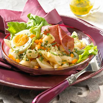 Schwarzwurzel-Salat mit Bündner Fleisch Rezept