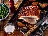 Schweinebraten mit Birnen und Bohnen Rezept