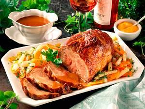Schweinebraten mit Schwarzwurzel-Möhrengemüse Rezept