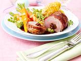 Schweinefilet im Baconmantel mit rotem Pesto Rezept