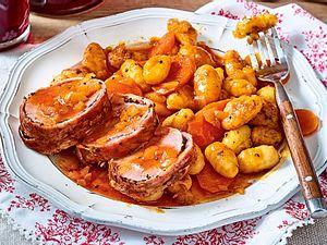 Schweinefilet im Pfeffer-Bacon-Mantel Rezept
