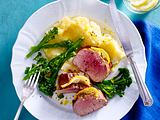 Schweinefilet mit Zitronenbutter Rezept