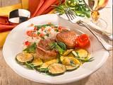 Schweinefilet mit Zucchini-Gemüse Rezept