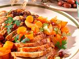 Schweinekotelettbraten mit karamellisiertem Gemüse Rezept