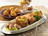 Schweinelendchen mit Käse-Schinken-Kruste Rezept