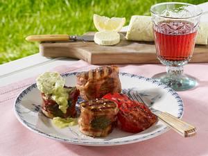 Schweinemedaillons mit Avocadobutter Rezept