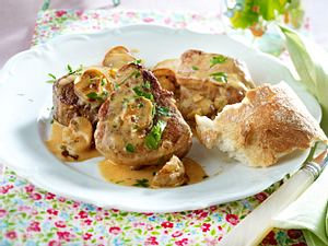 Schweinemedaillons in Champignonrahm Rezept