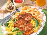 Schweinenacken-Steaks Südstaaten-Art Rezept