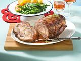 Schweinerollbraten mit Meerrettich-Apfel-Füllung Rezept