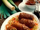 Schweinerouladen chinesische Art Rezept